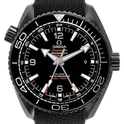 Photo of Omega Planet Ocean Deep Black Ceramic GMT Watch 215.92.46.22.01.001 Unworn