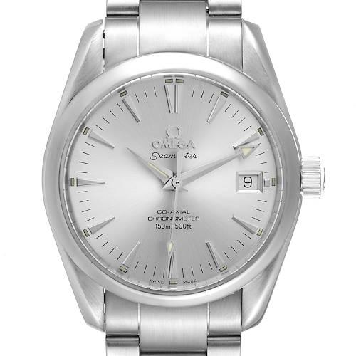 Photo of Omega Seamaster Aqua Terra 36 Silver Dial Steel Watch 2504.30.00 Box Card