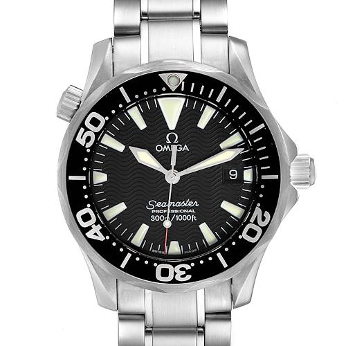 Photo of Omega Seamaster James Bond 36 Midsize Black Dial Watch 2262.50.00