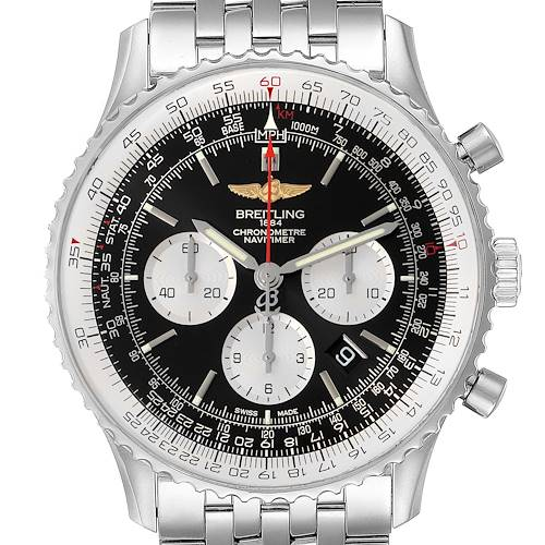 Photo of Breitling Navitimer 01 46mm Black Dial Steel Mens Watch AB0127