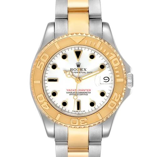 Photo of Rolex Yachtmaster 35 Midsize Steel Yellow Gold Unisex Watch 68623
