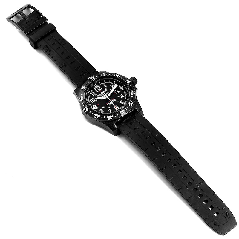 Breitling Colt Skyracer PVD Ultralight Polymer Mens Watch X74320 Box Papers SwissWatchExpo