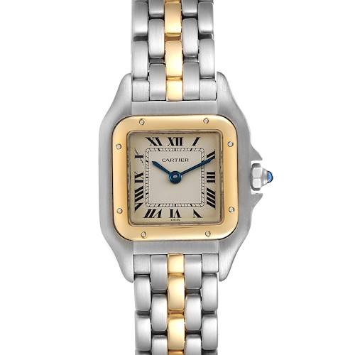Photo of Cartier Panthere Ladies Steel Yellow Gold One Row Ladies Watch W25029B5