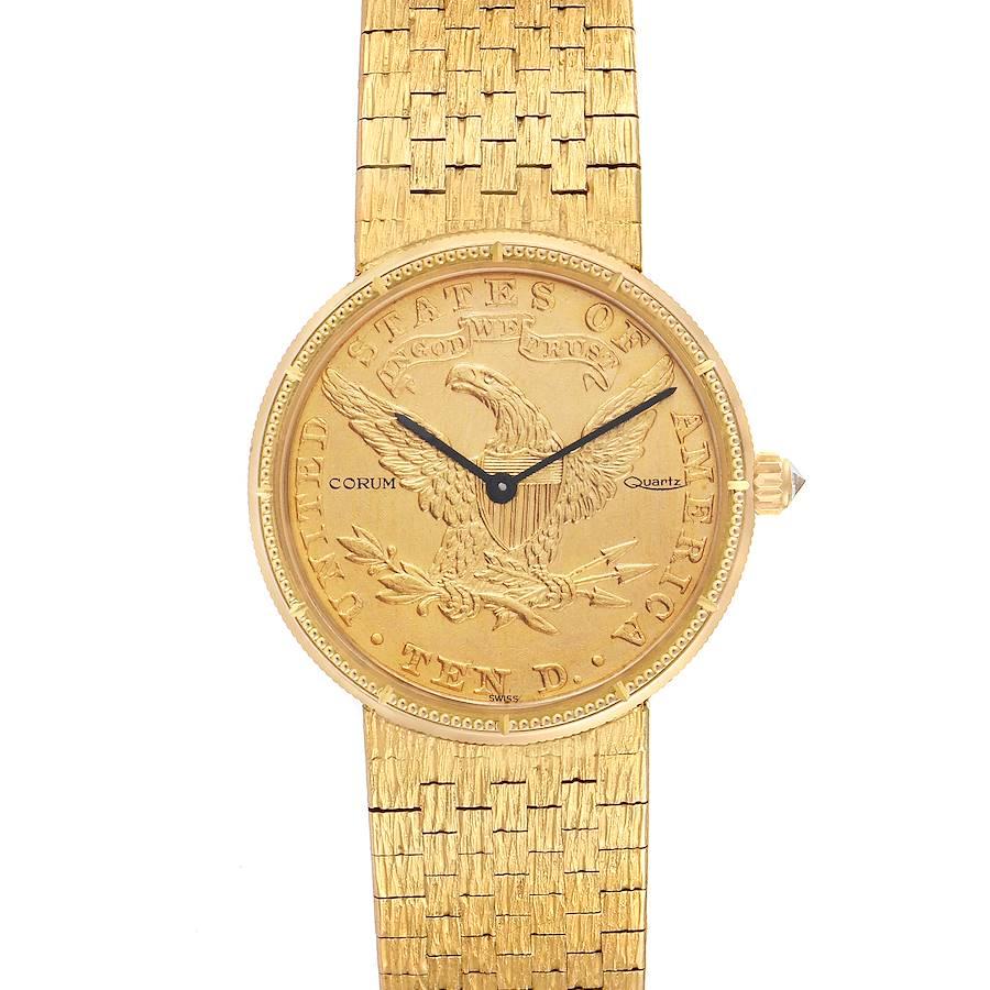 Corum Coin 10 Dollars Double Eagle Yellow Gold Ladies Watch 1901 SwissWatchExpo