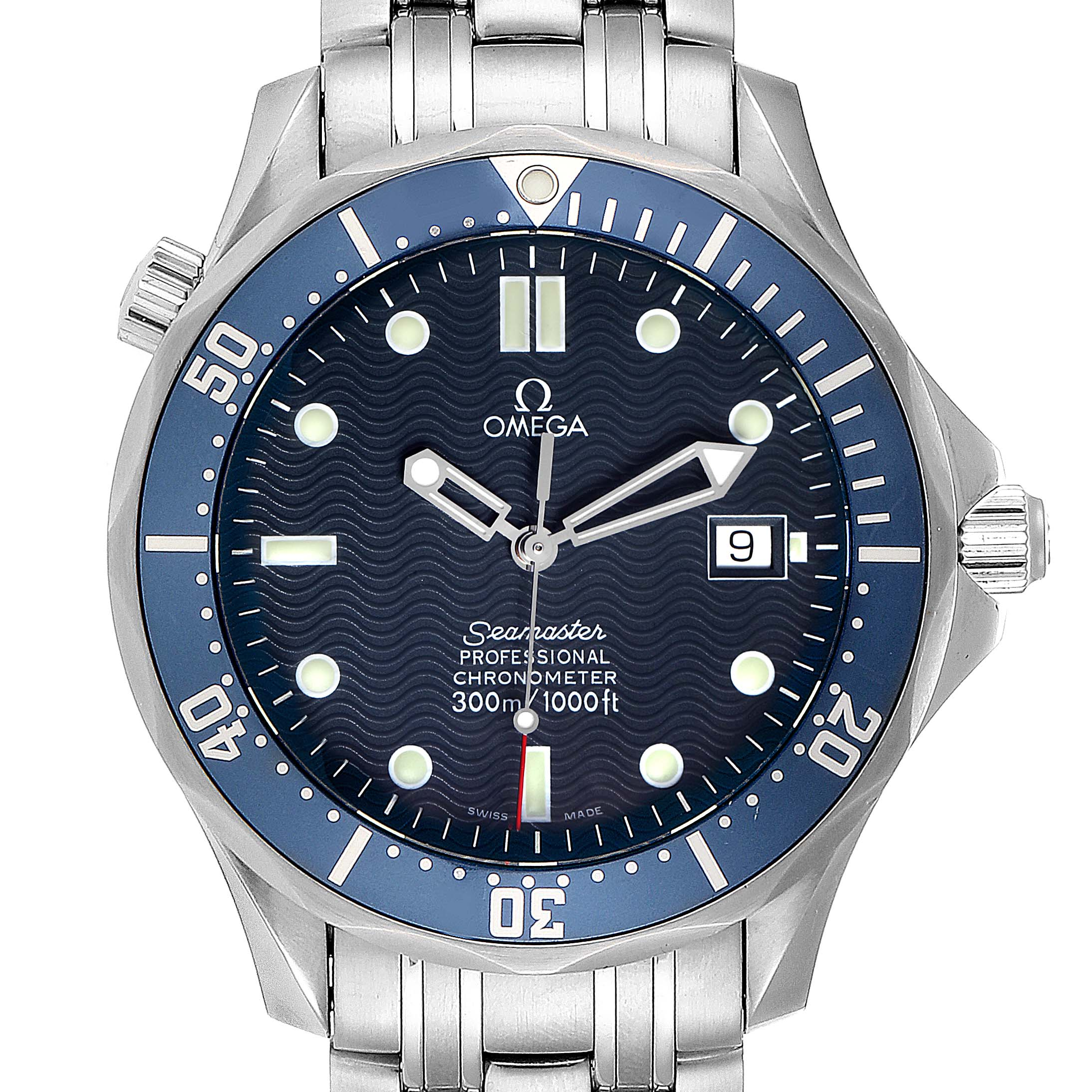 Omega Seamaster 300M Automatic Steel Mens Watch 2531.80.00 Box Card