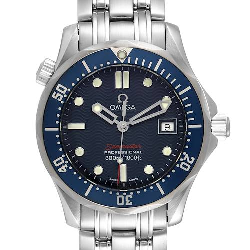 Photo of Omega Seamaster 300M Blue Wave Dial Midsize Watch 2223.80.00