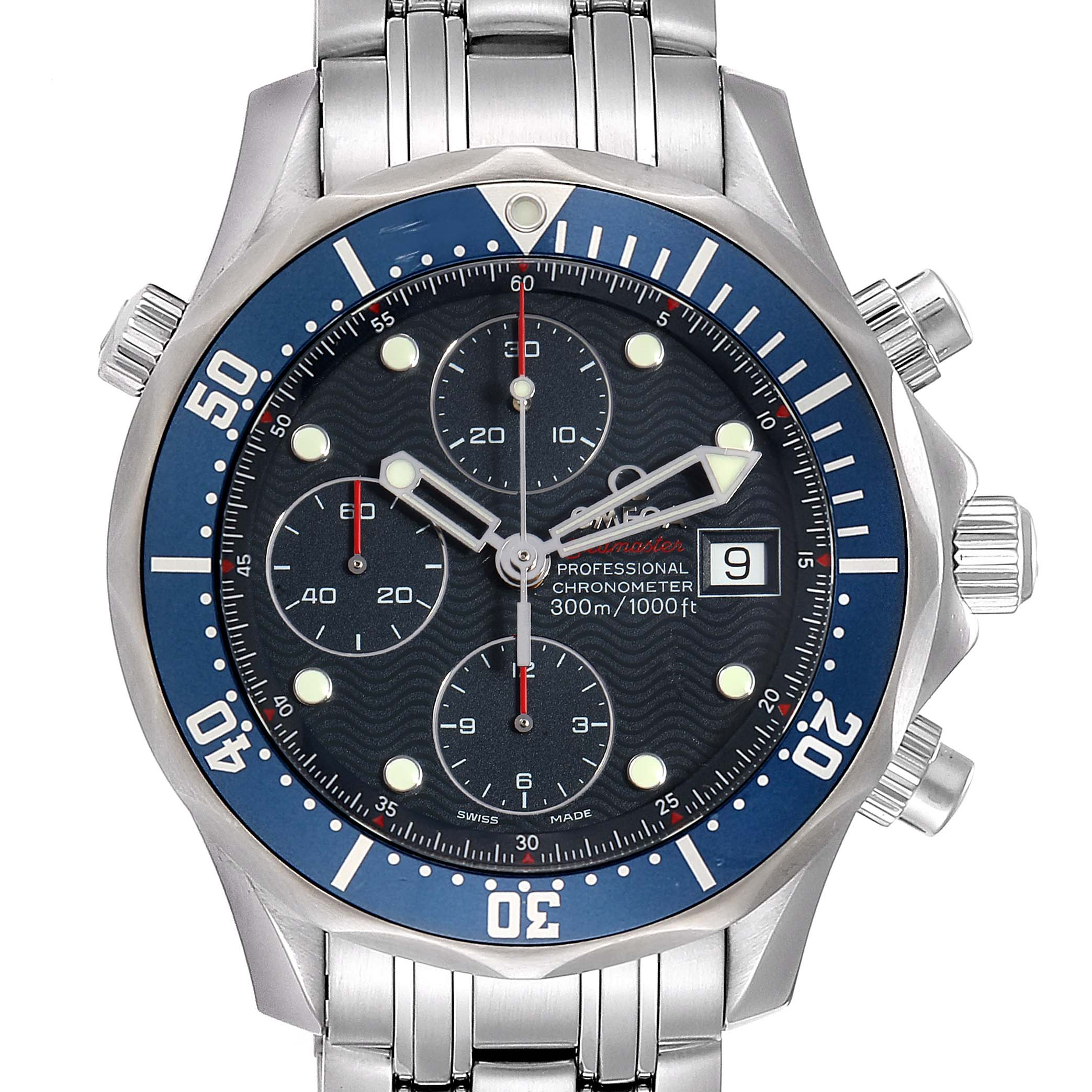 Omega Seamaster 300m Chronograph Automatic 41.5 mm Watch 2225.80.00