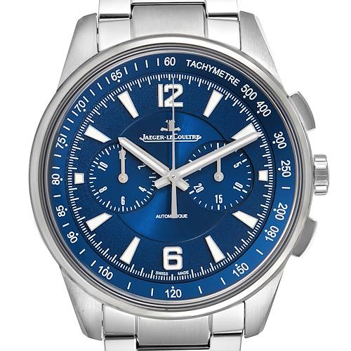 Photo of Jaeger Lecoultre Polaris Blue Dial Steel Mens Watch 842.8.C1.s Q9020180