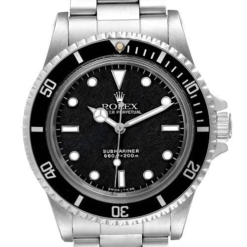 Photo of Rolex Submariner Spider Dial Vintage Stainless Steel Mens Watch 5513