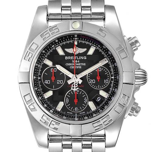 Photo of Breitling Chronomat Evolution 41 Limited Edition Steel Mens Watch AB0141
