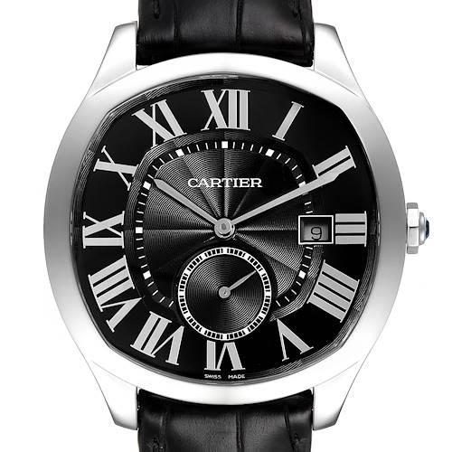 Photo of Cartier Drive de Cartier Black Dial Steel Mens Watch WSNM0009 Unworn