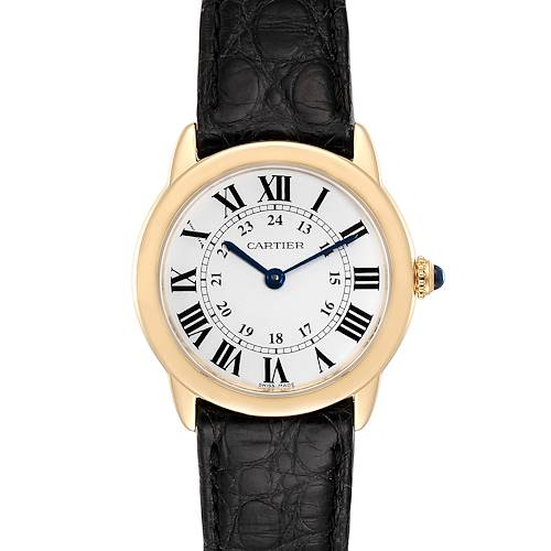 Photo of Cartier Ronde Solo Steel 18K Yellow Gold Small Ladies Watch W6700355