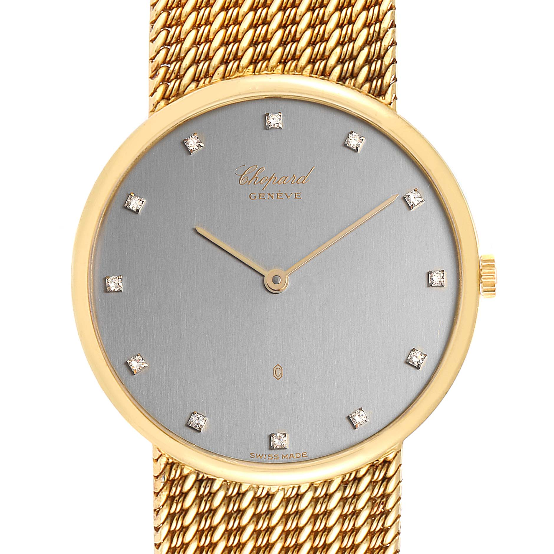 Chopard Classique 18K Yellow Gold Quartz Mens Watch 1091 SwissWatchExpo