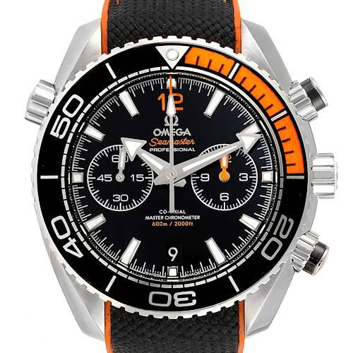 Photo of Omega Planet Ocean Black Dial Mens Watch 215.32.46.51.01.001 Box Card