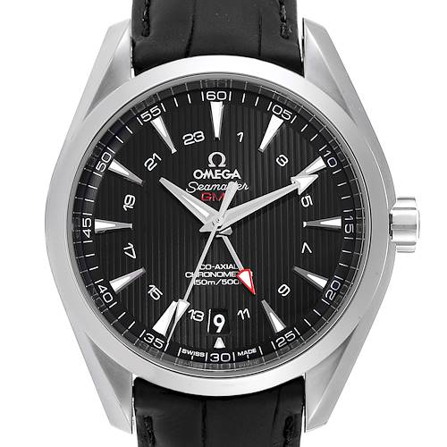 Photo of Omega Seamaster Aqua Terra GMT Co-Axial Watch 231.13.43.22.01.001 Box Card