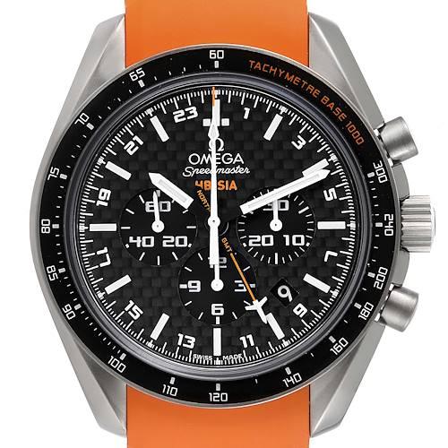 Photo of Omega Speedmaster HB-SIA GMT Titanium Watch 321.92.44.52.01.003 Box Card