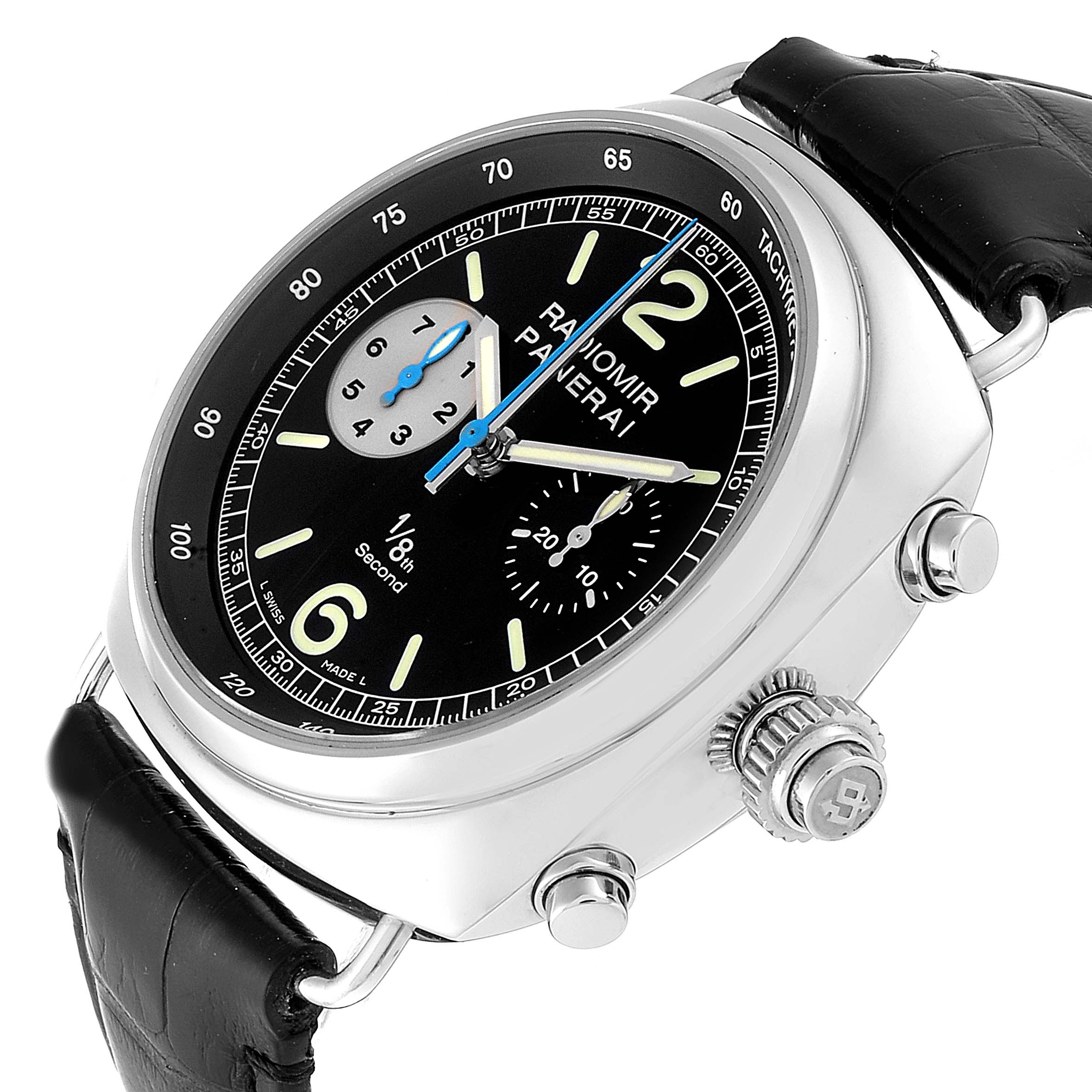 Panerai Radiomir 1/8th Second Rattrapante Limited Watch PAM00246 Box Papers SwissWatchExpo