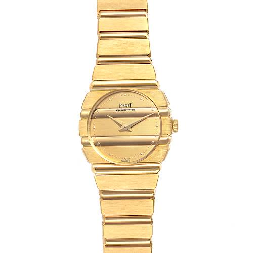 Photo of Piaget Polo 18K Yellow Gold Champagne Dial Quartz Ladies Watch C701