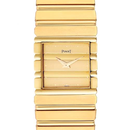 Photo of Piaget Polo 18K Yellow Gold Mens Watch 7131