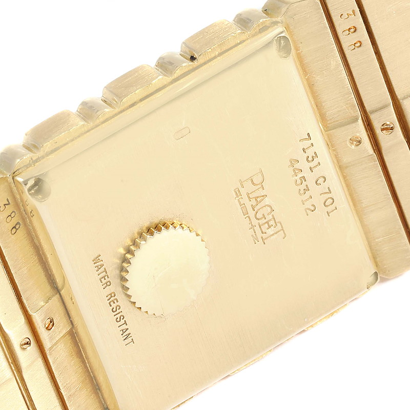 Piaget Polo 18K Yellow Gold Mens Watch 7131 SwissWatchExpo