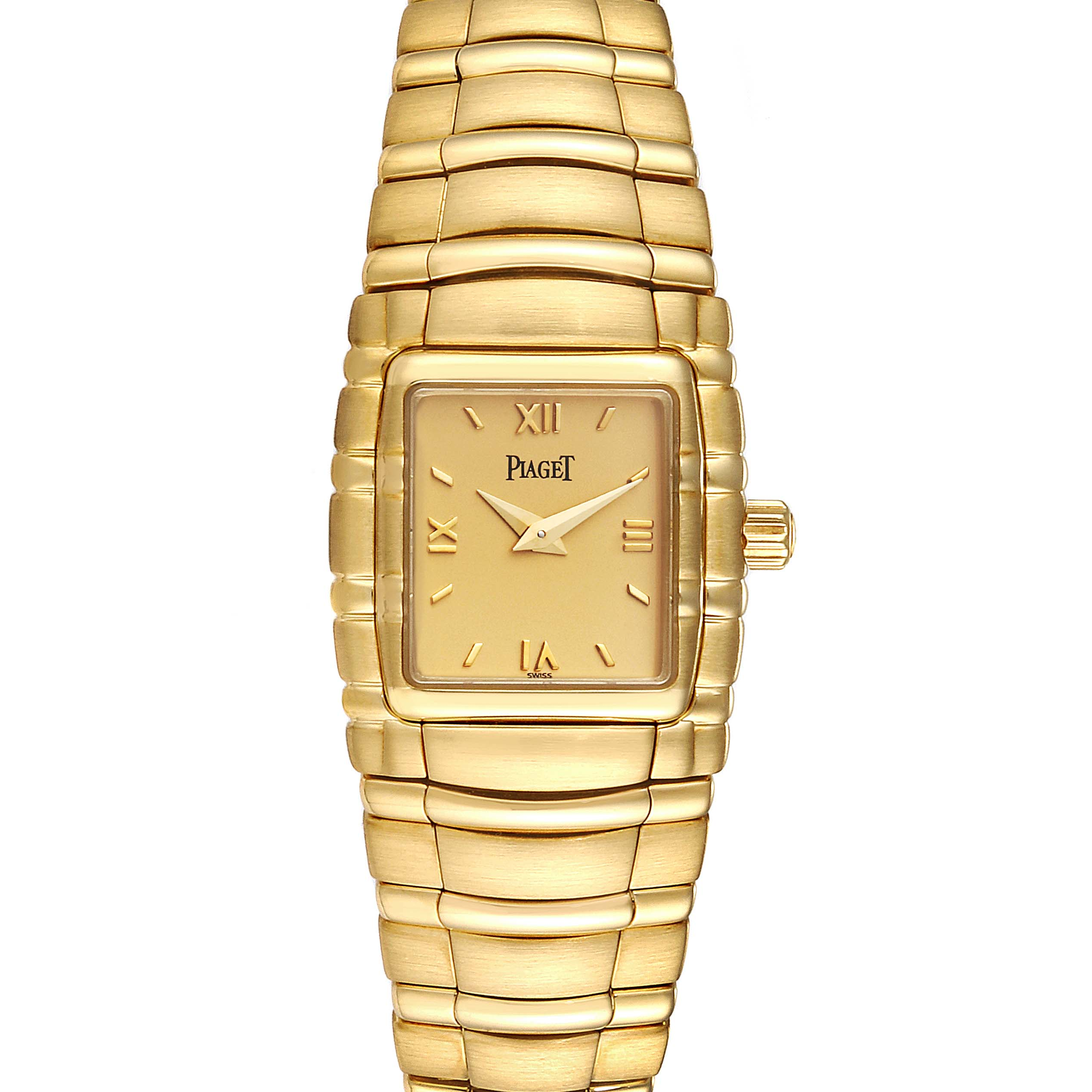 Piaget Tanagra 18K Yellow Gold Mechanical Ladies Watch M411