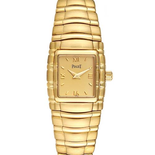 Photo of Piaget Tanagra 18K Yellow Gold Mechanical Ladies Watch M411