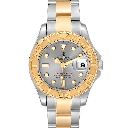 Photo of Rolex Yachtmaster 29 Steel Yellow Gold Ladies Watch 69623 Papers