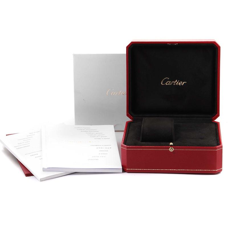 Cartier Ballon Blanc Rose Gold Diamond Ladies Watch WGBL0002 Box Card SwissWatchExpo