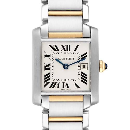 Photo of Cartier Tank Francaise Midsize Two Tone Ladies Watch W51012Q4