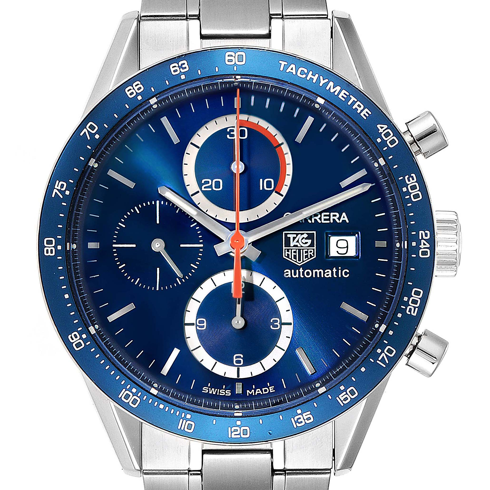 Photo of Tag Heuer Carrera 40th Anniversary Legend Steel Mens Watch CV2015