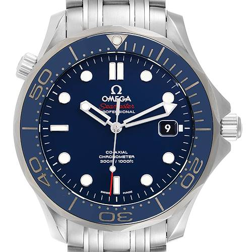 Photo of Omega Seamaster Diver Co-Axial Mens Watch 212.30.41.20.03.001 Unworn