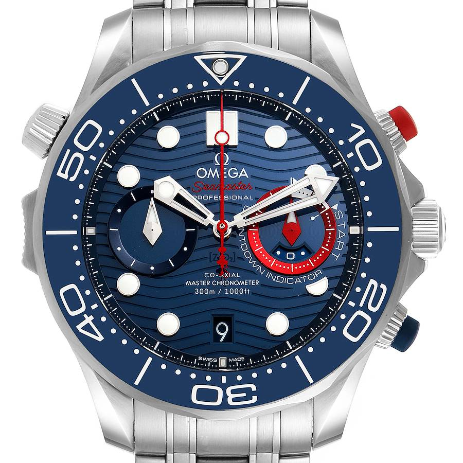 Omega Seamaster 44 Chronograph Mens Watch 210.30.44.51.03.002 Unworn SwissWatchExpo