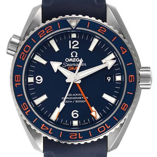 Photo of Omega Seamaster Planet Ocean GMT Steel Mens Watch 232.32.44.22.03.001 Unworn