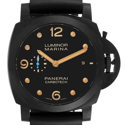 Photo of Panerai Luminor Marina 1950 44 Carbotech Mens Watch PAM00661 PAM661