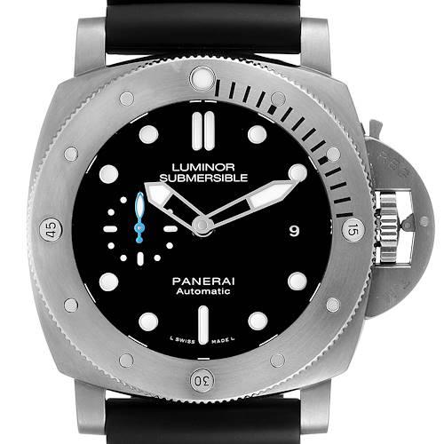 Photo of Panerai Submersible Titanio 1959 3 Days 47mm Mens Watch PAM01305