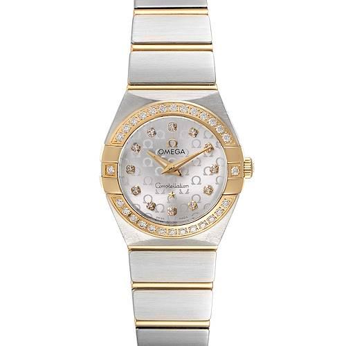 Photo of Omega Constellation Steel Yellow Gold Diamond Watch 123.25.24.60.52.001
