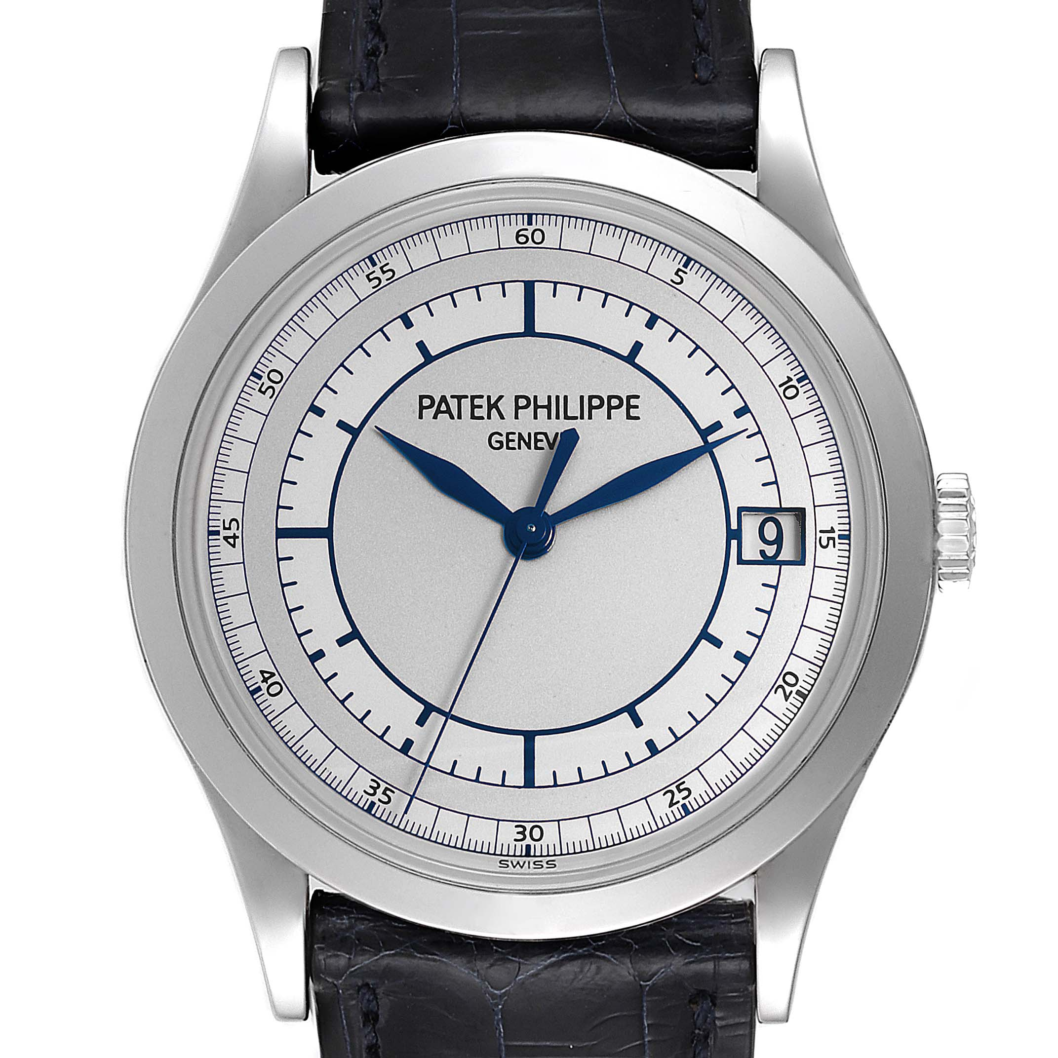 Photo of Patek Philippe Calatrava White Gold Automatic Mens Watch 5296