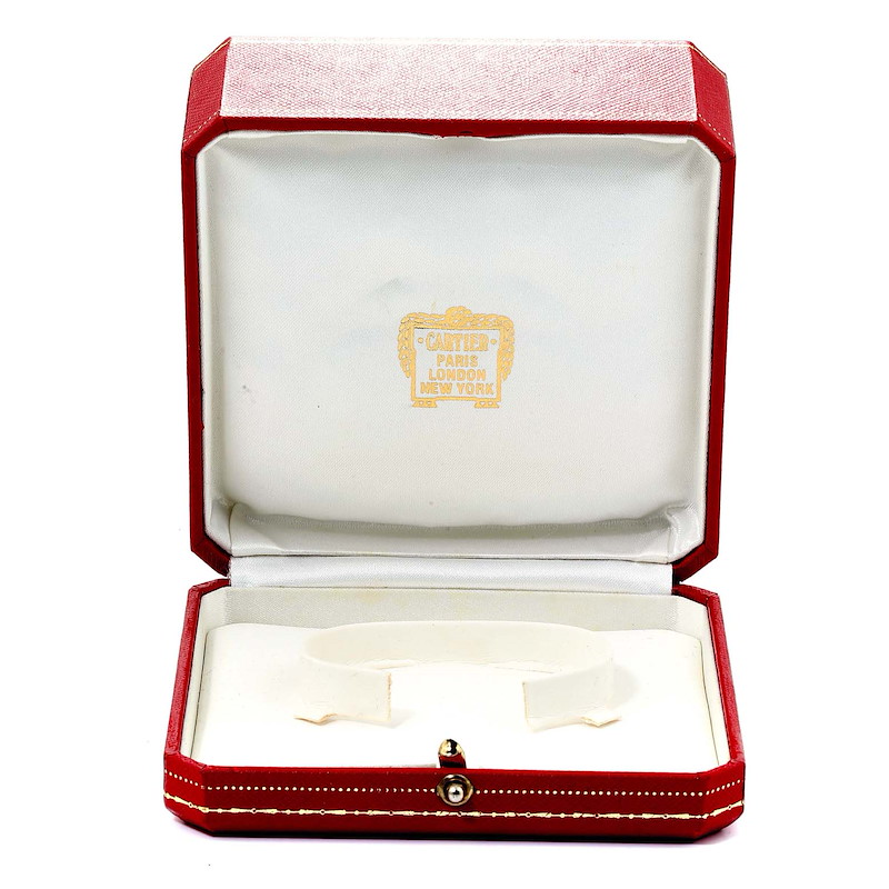 Cartier Panthere Cougar 18K Yellow Gold Ladies Watch 887906 SwissWatchExpo