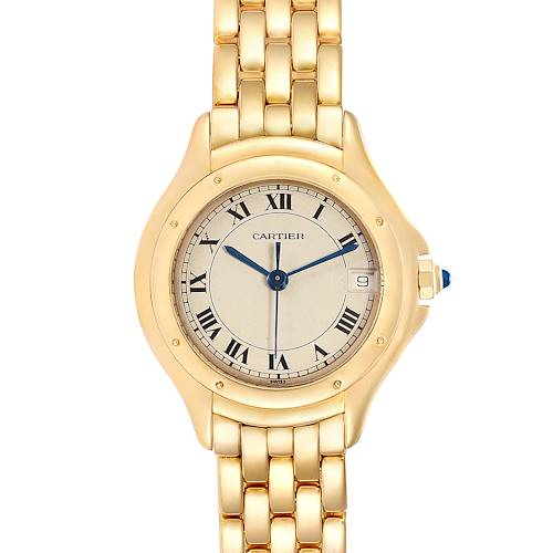 Photo of Cartier Panthere Cougar 18K Yellow Gold Ladies Watch 887906