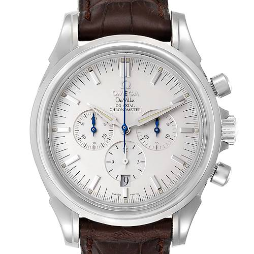 Photo of Omega DeVille Co-Axial Chronograph Steel Mens Watch 4841.31.32 Card