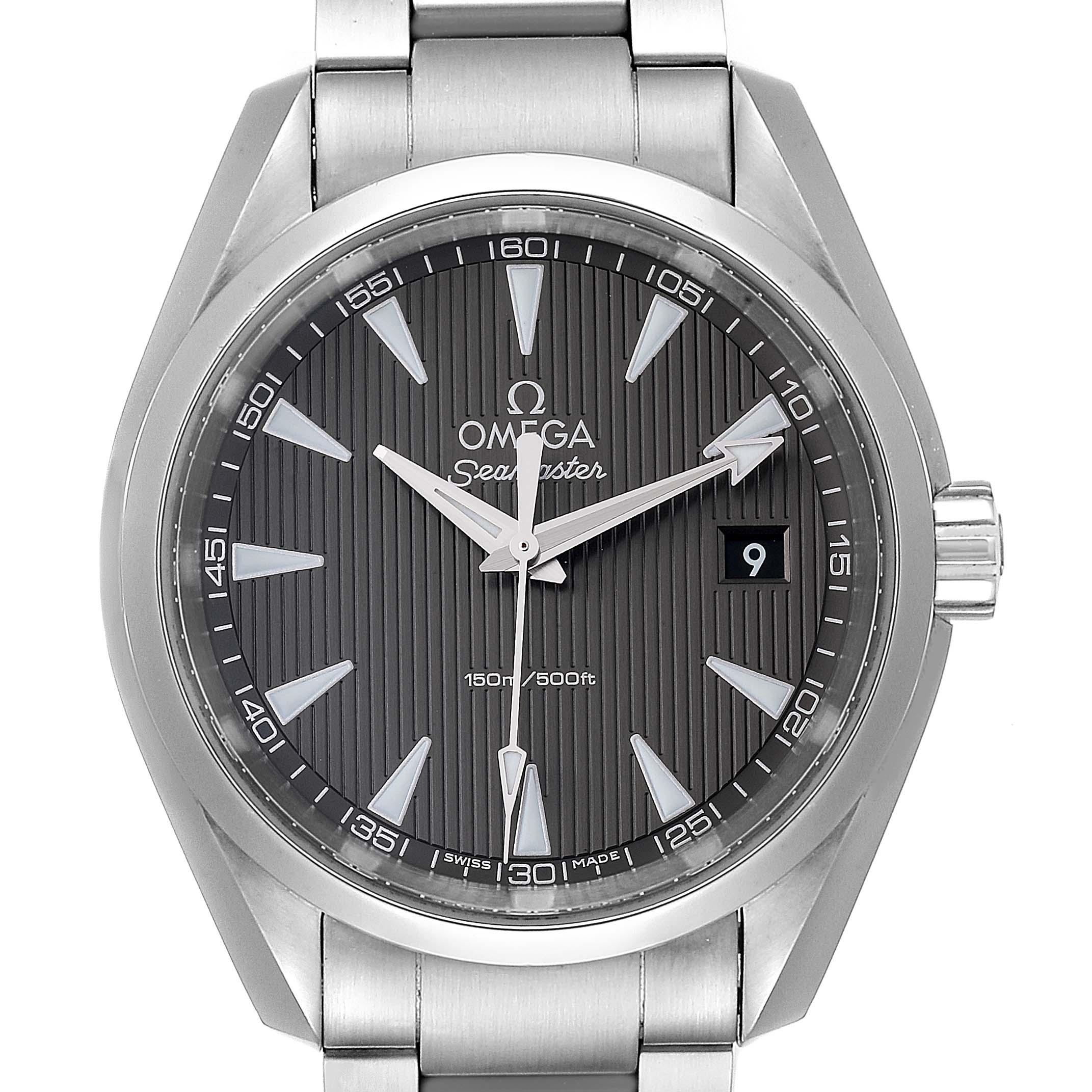 Omega Seamaster Aqua Terra Grey Dial Mens Watch 231.10.39.60.06.001
