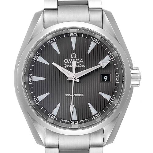 Photo of Omega Seamaster Aqua Terra Grey Dial Mens Watch 231.10.39.60.06.001