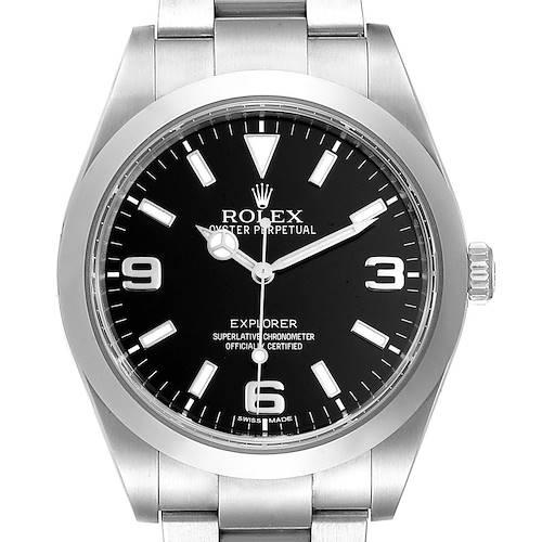 Photo of Rolex Explorer I 39 Black Dial Automatic Mens Watch 214270