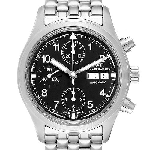 Photo of IWC Pilot Flieger Chronograph Day Date Automatic Watch IW370607
