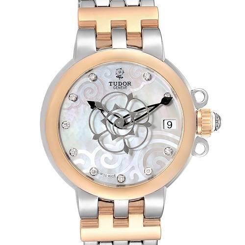 Photo of Tudor Glamour Clair de Rose Steel Rose Gold Diamond Ladies Watch 35701