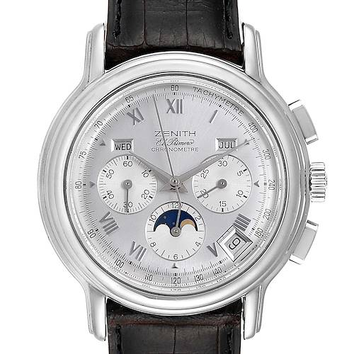 Photo of Zenith Chronomaster El Primero MoonPhase Triple Calendar Watch 01.0240.410