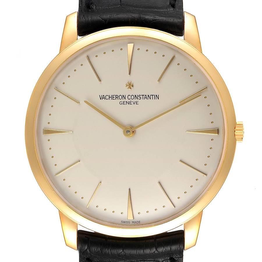 Vacheron Constantin Patrimony Grand Taille 40mm Yellow Gold Mens Watch 81180 SwissWatchExpo
