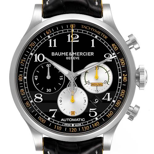 Photo of Baume Mercier Capeland Shelby Cobra 44mm Limited Steel Mens Watch 65798