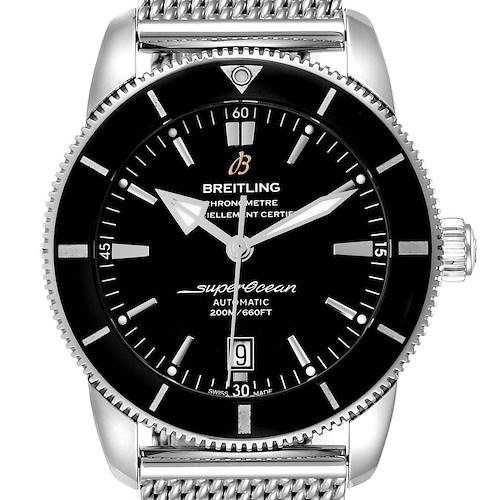 Photo of Breitling Superocean Heritage 46 Black Dial Mens Watch AB2020 Box Papers