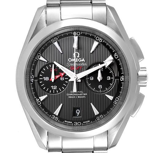 Photo of Omega Seamaster Aqua Terra GMT Chronograph Watch 231.10.43.52.06.001 Box Card